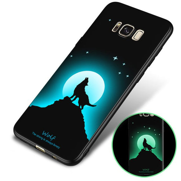 Bakeey 3D Night Luminous Schutzhülle für Samsung Galaxy S8 Plus
