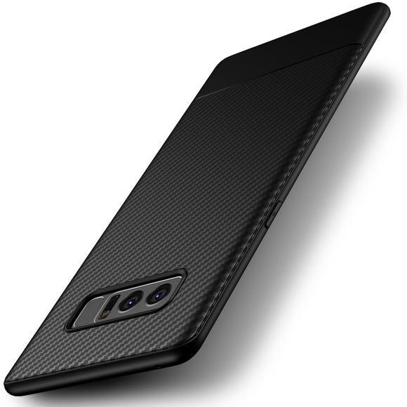Ultra-Thin Shockproof Carbon Fiber Soft TPU Gehäuse für Samsung Galaxy Note 8