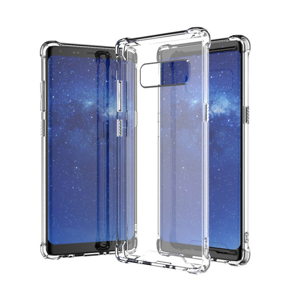 Bakeey ™ Air Bag Transparent Soft TPU Tasche für Samsung Galaxie Note 8