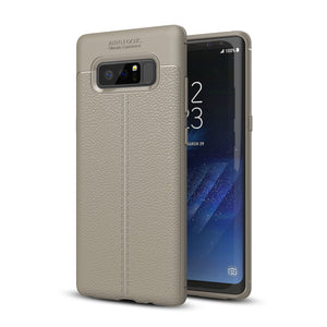 Bakeey ™ Anti Fingerabdruck Soft TPU Litchi Leder Tasche für Samsung Galaxy Note 8/S8/S8 Plus