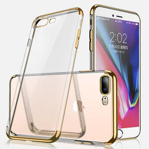 Cafele Überzug transparent Soft TPU Fall für iPhone 7 Plus/8 Plus 5.5 ""