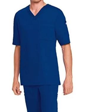 Grey's Anatomy by Barco - Men's 3 Pocket V-Neck Scrub Top 0103