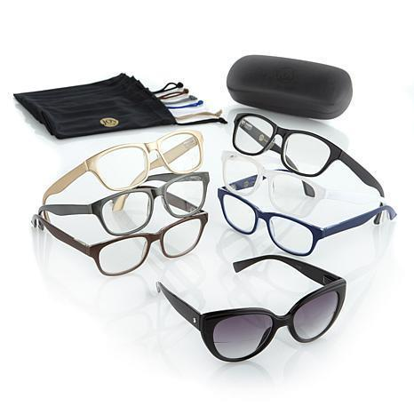 NEW Joy Mangano 15-Piece Readers Smart Lenses & Designer Frames