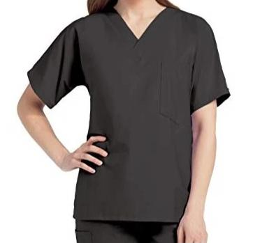 Scrub Zone by Landau One Pocket V-Neck Scrub Top 71221