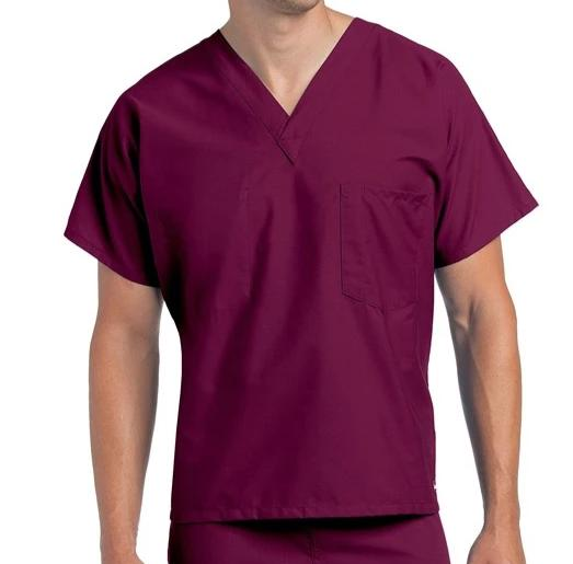 Landau Premium Uniform Reversible One Pocket V-Neck Scrub Top 7502