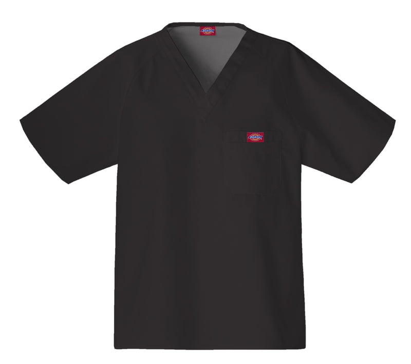 Dickies Men's Raglan Sleeve Solid Scrub Top 816106