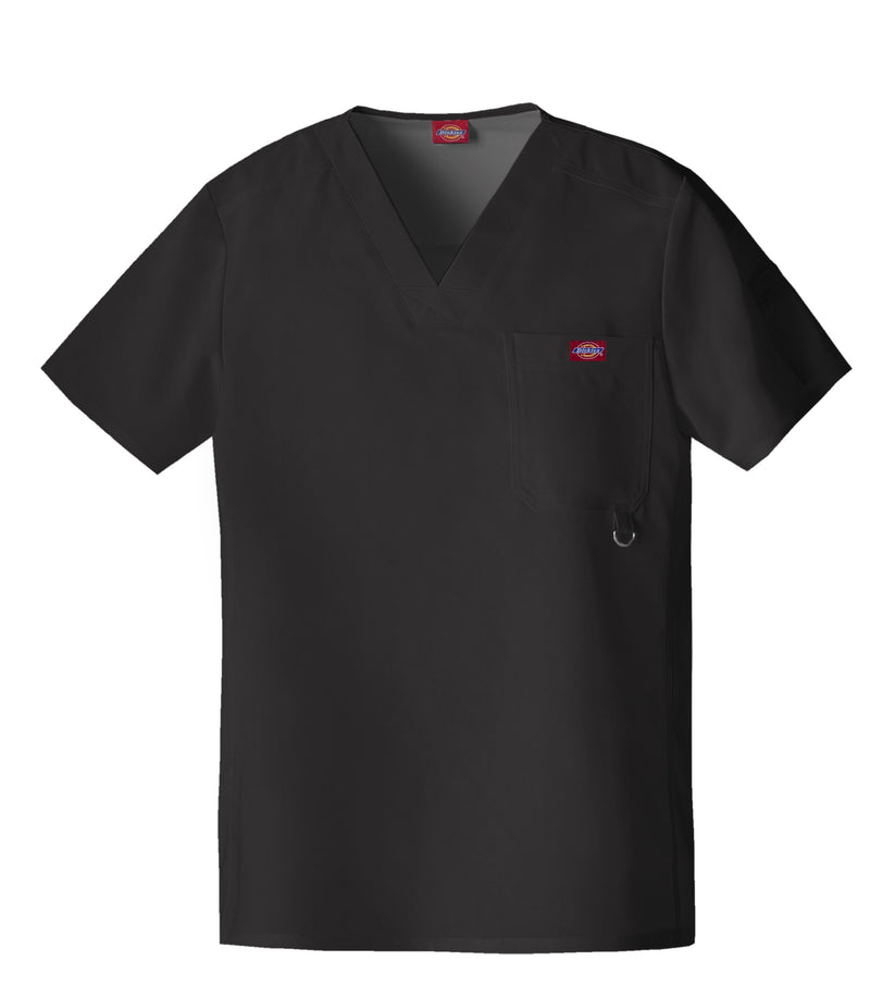 Dickies Xtreme Stretch Men's V-Neck Scrub Top 81910