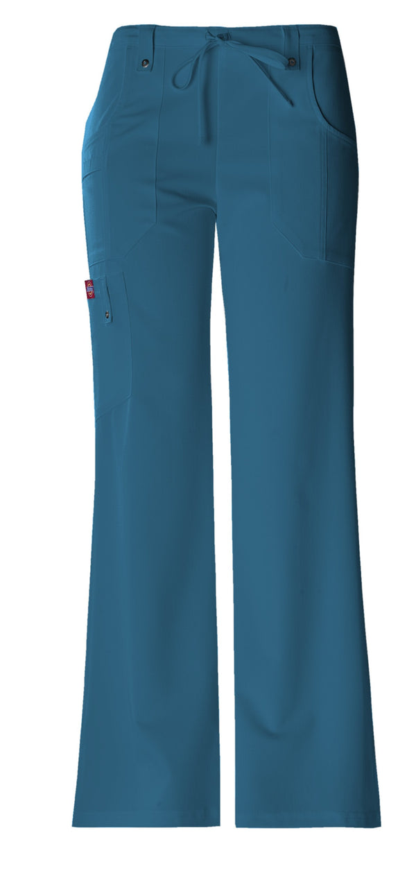 Dickies Women's Xtreme Stretch Fit Drawstring Flare Leg Pant 82011