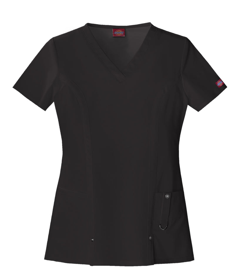 Dickies Women's Xtreme Stretch V-Neck Scrubs Shirt 82851