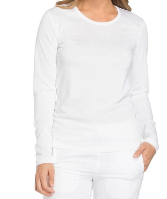 Dickies Women's EDS Long Sleeve Crew Neck Underscrub 84770