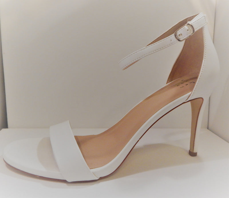 A New Day Women's White Myla Stiletto Heeled Pump Sandal