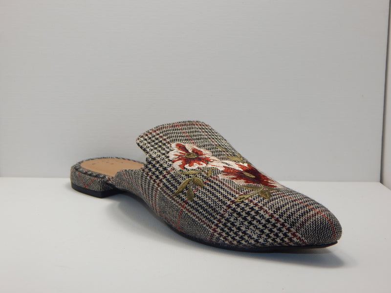 A New Day Women's Eve Plaid Mules