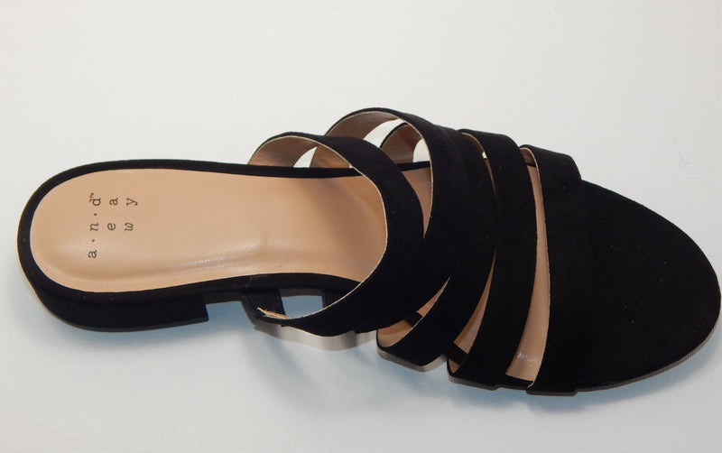 A New Day Women's Amali Slide Sandals - Black
