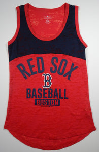 Boston Red Sox Women's Tank Top - Red/Navy - G