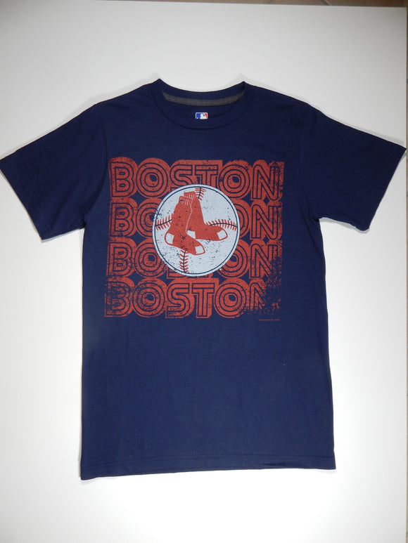 Boston Red Sox Men's T-Shirt Navy - Z