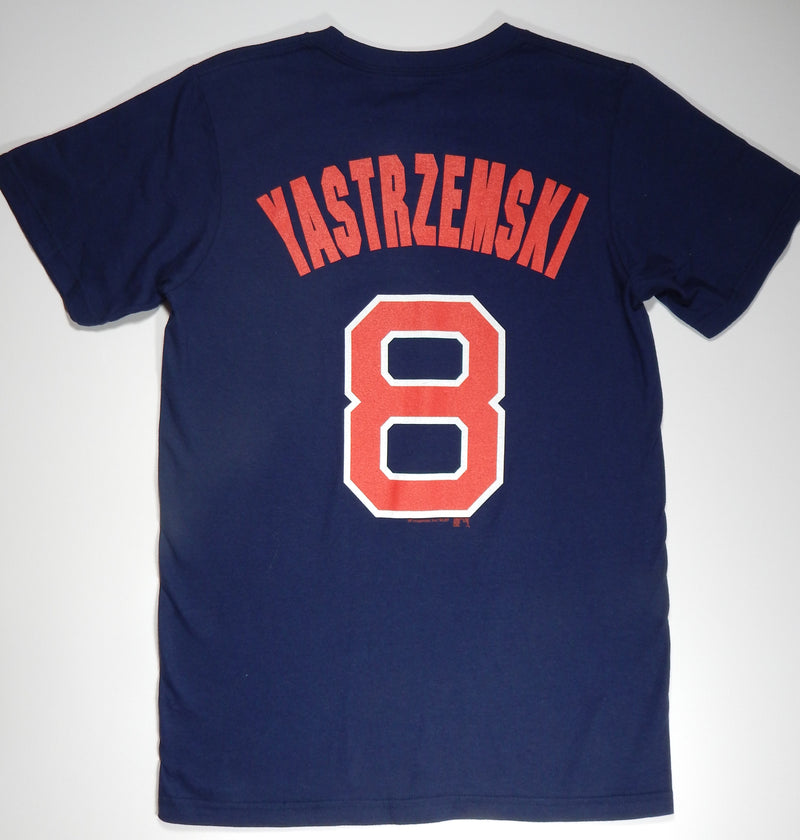 Boston Red Sox Navy Yastrzemski T-Shirt