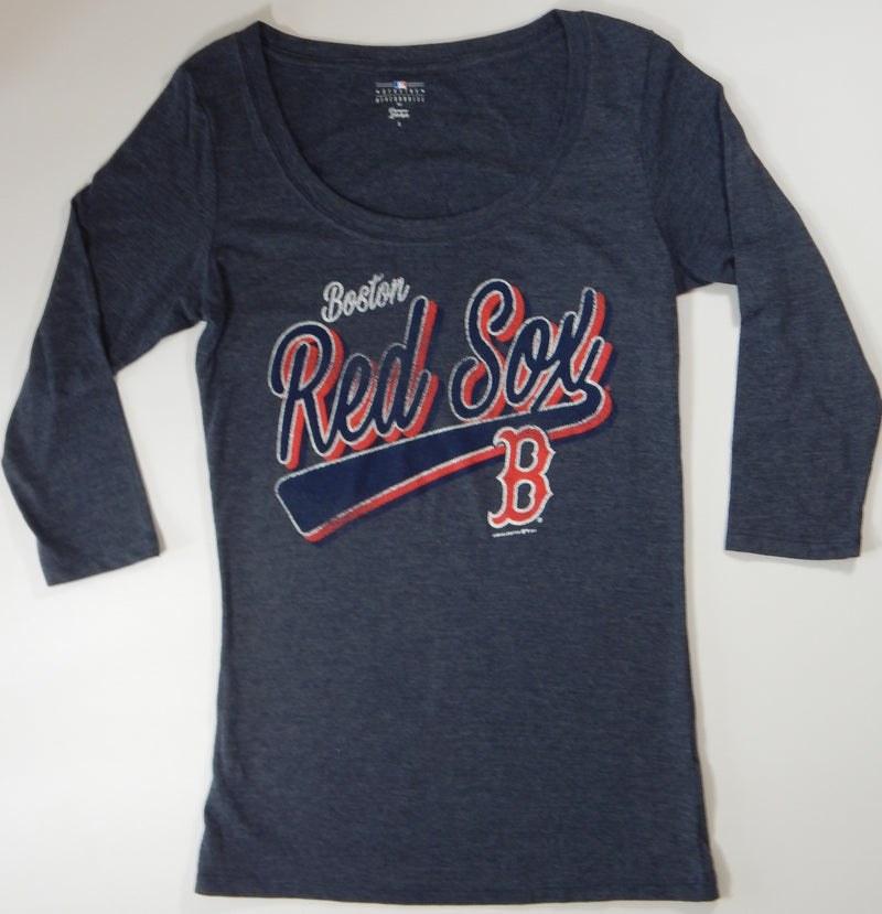 Boston Red Sox Women's 3/4 Sleeve T-shirt