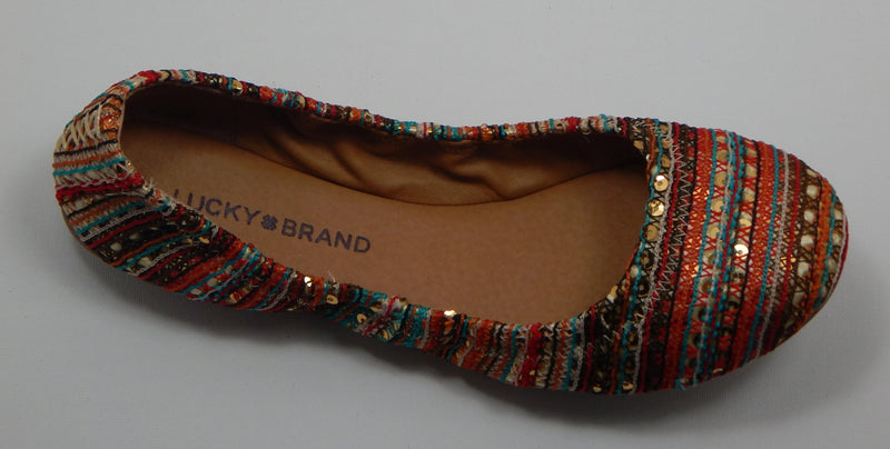 Lucky Brnad Emmie Multi Color Flats