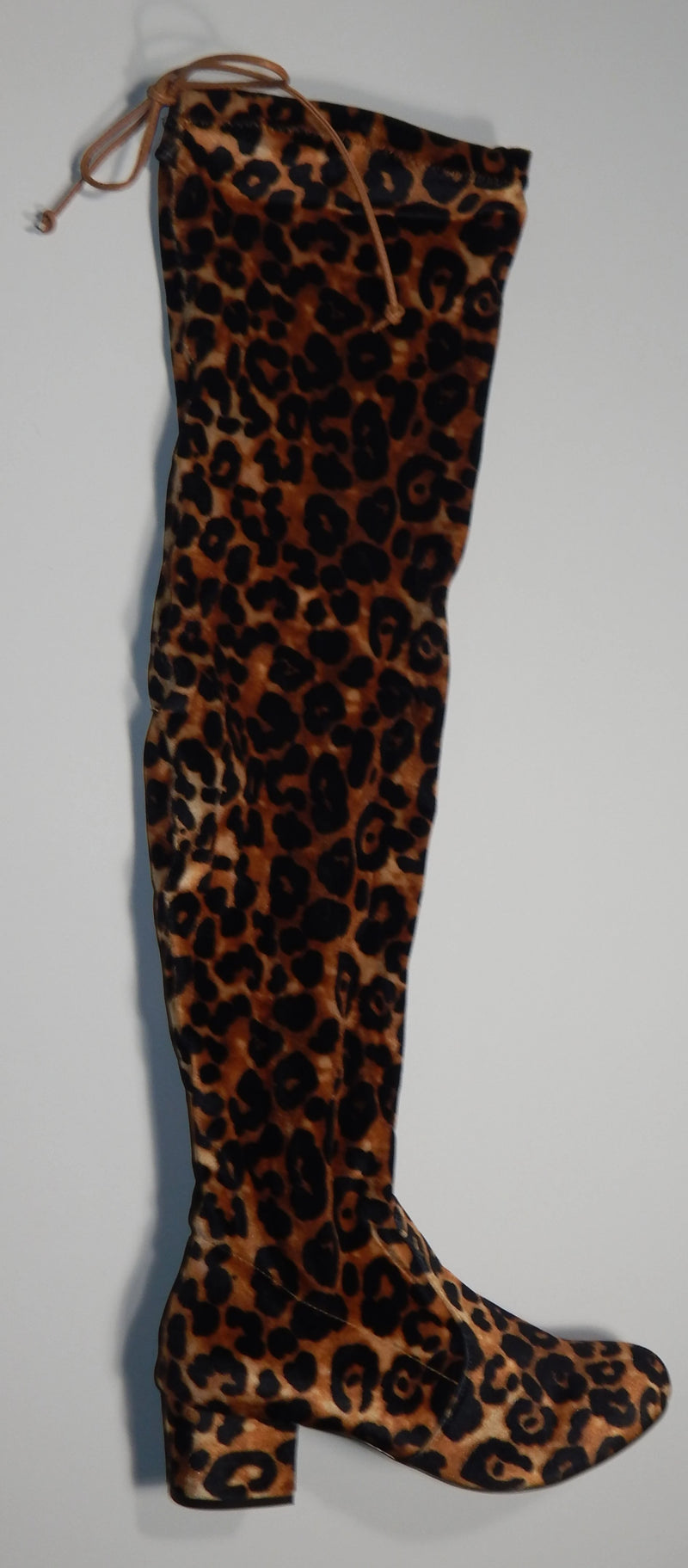 Wendy Williams Over The Knee Leopard Boot