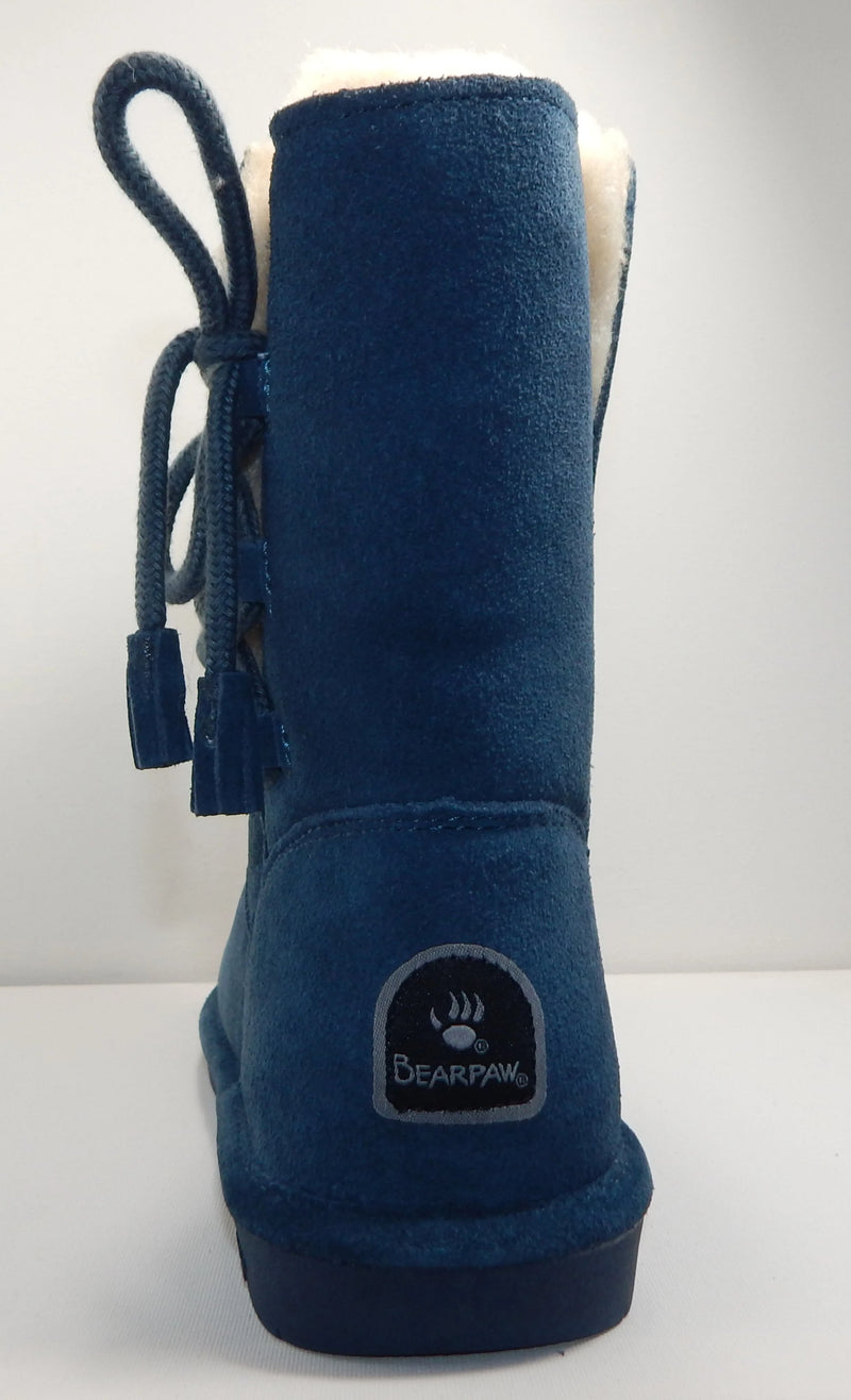 BEARPAW Aspen Slate Blue Lace Up Boot