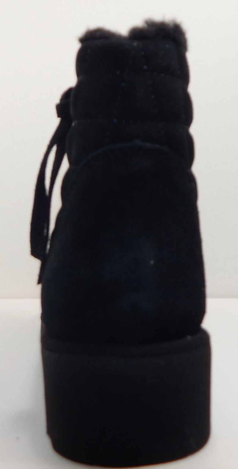 BEARPAW Megan Black Booties