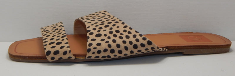dv Women's Cheetah Print Slide