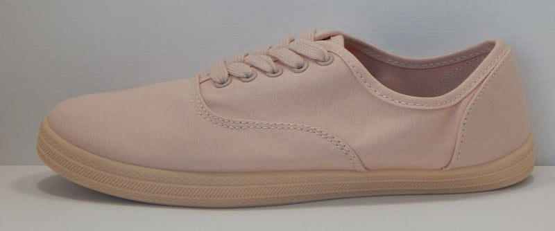 Mossimo Supply Co. Women's Emilee Pink Lace Up Canvas Sneakers