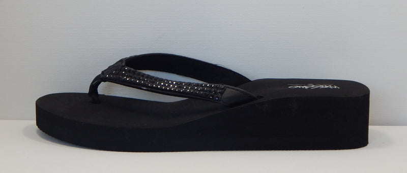 Mossimo Supply Co. Womens Black Lannette Flip Flops