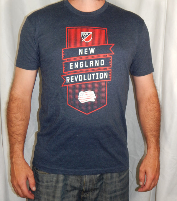 New England Revolution Team Gray T-Shirt