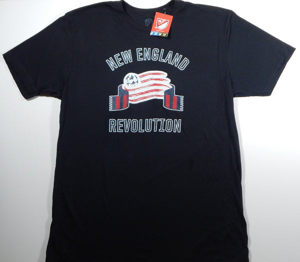 New England Revolution Men's Black Team T-Shirt