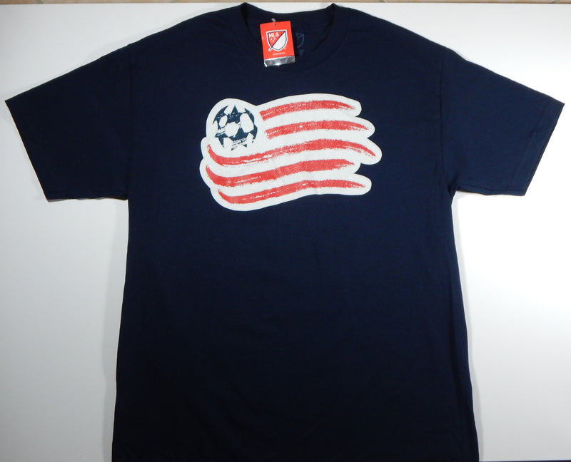 New England Revolution Men's Navy Logo T-Shirt