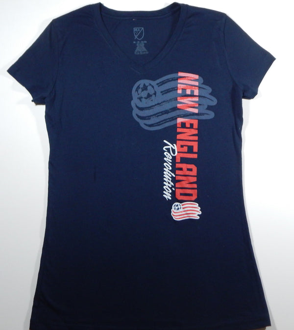New England Revolution Women's Navy T-Shirt