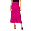 Antthony Lasercut Borders Raspberry Skirt