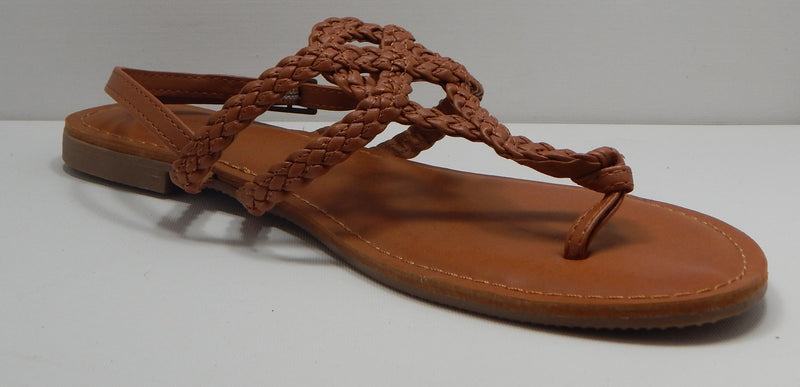 Universal Thread Women's Jana Braided Thong Ankle Strap Sandal