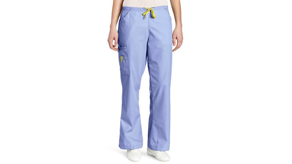 WonderWink Women's Scrubs Romeo Six-Pocket Flare Leg Pant 5026