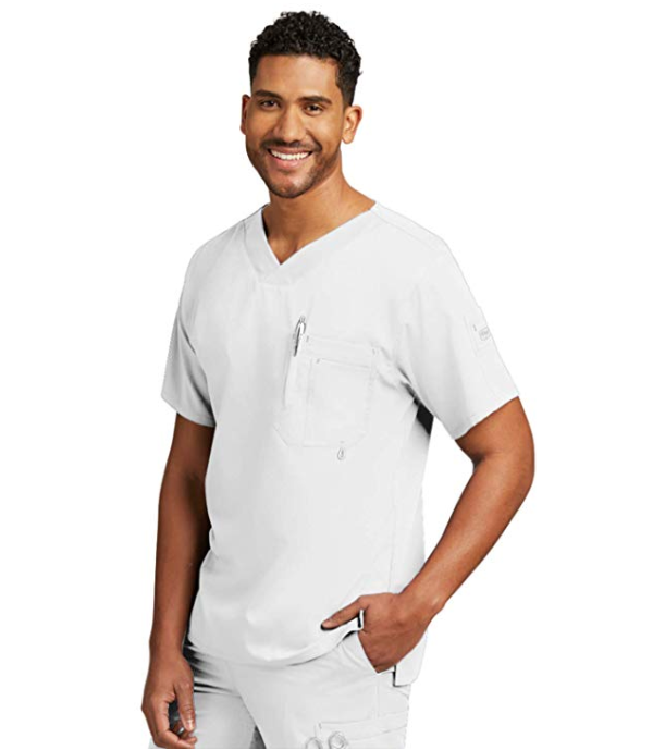 Grey's Anatomy by Barco - Men's Modern Fit V-Neck Scrub Top 0170