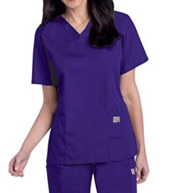 Scrub Zone by Landau Women's 3-Pocket V-Neck Scrub Top 70221