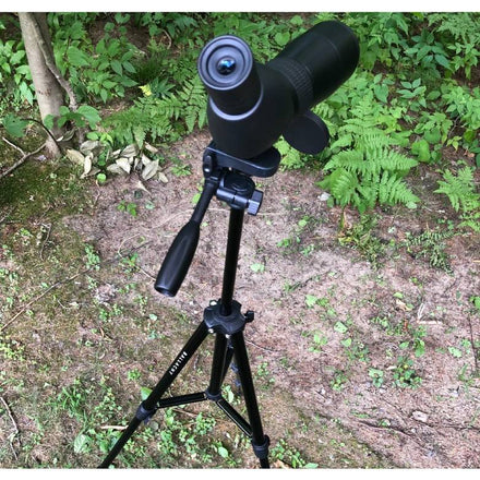 How to Mount a Spotting Scope on a Tripod
