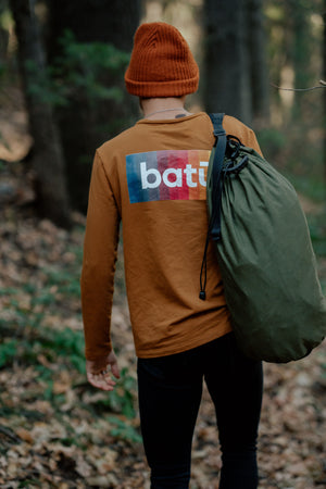 batū Long Sleeve Mustard Shirt