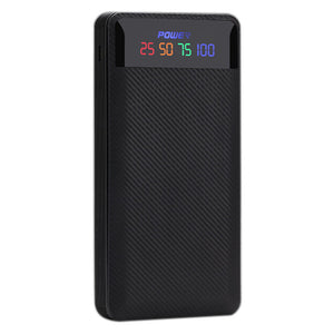 Dual USB Power Bank Case Battery Charger