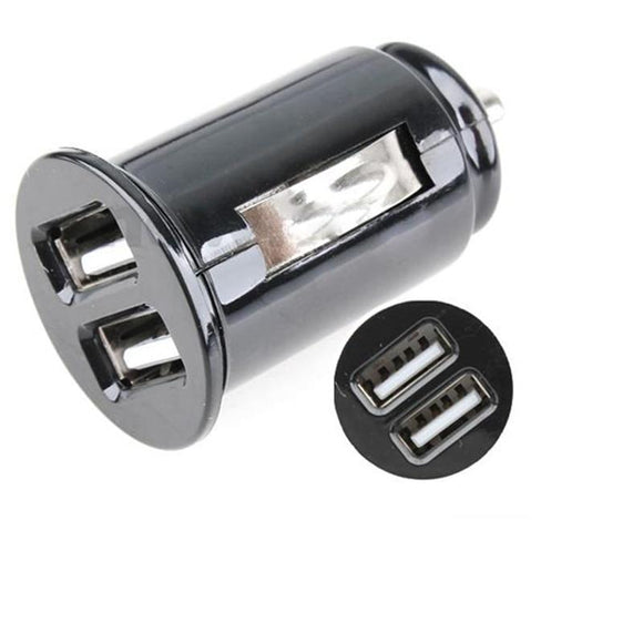 VODOOL 2 Ports Dual USB Mini Bullet Car Charger 5V 2.1A Power Dual Adapter for Cell Phone MP3 Cables, Adapters & Sockets