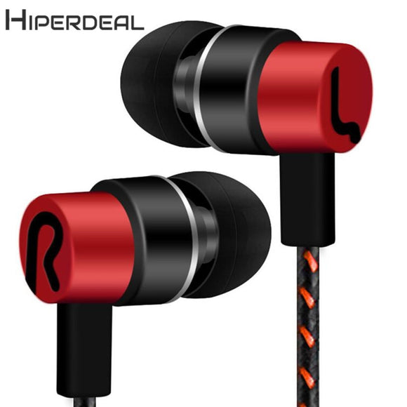HIPERDEAL New  Universal 3.5mm In-Ear Stereo Earbuds