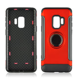 Hard  Phone Cover 360 Rotate Ring Shockproof for Samsung Galaxy S8 S9
