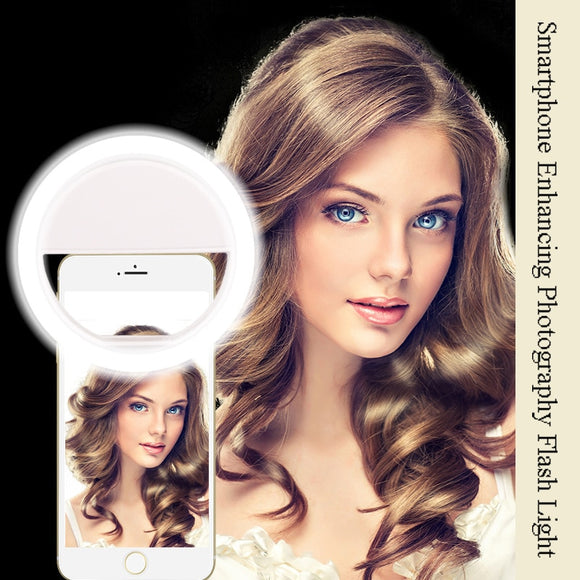 Smart phone Selfie Ring Flash lens