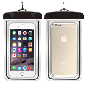 Clear Waterproof Mobile Phone Case For iPhones