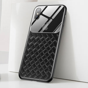 Basues Weaving Case For iPhone Xs Max Xr X S R Xsmax Ultra Thin