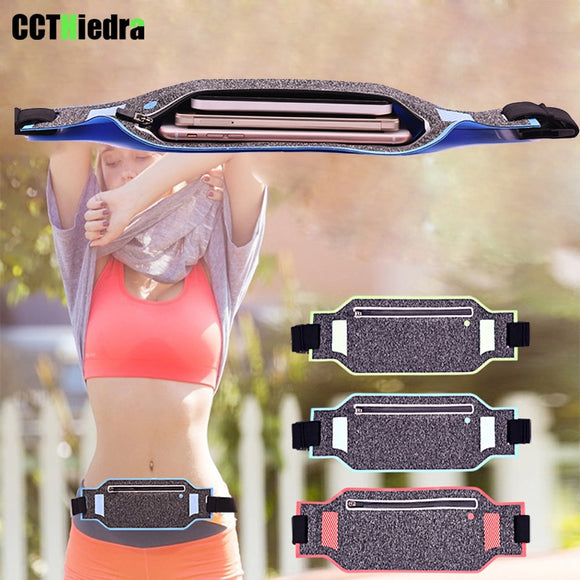 Slim Waterproof Sport Running Waist Belt Cell Phone Case