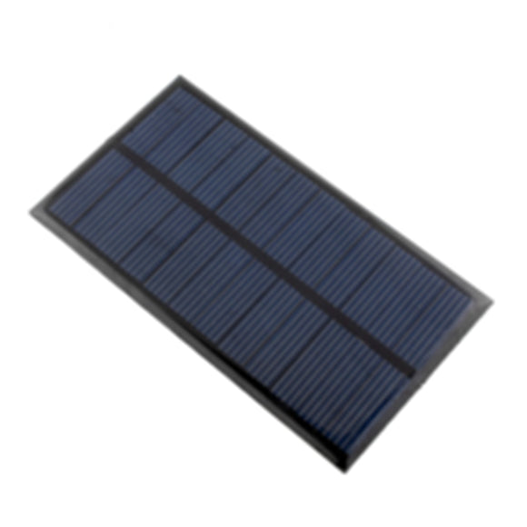 Cewaal Solar Panel 6V 1W 110*60mm Battery Charger