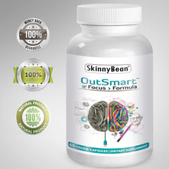 Outsmart Neurotrophic DMAE neurotrophic Capsules for Focus & Memory