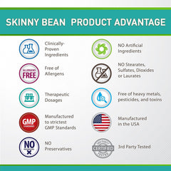 Slimming Probiotic - by Skinny Bean Multi-Strain Time Release Capsules
